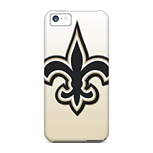 New Tpu Hard Cases Premium Iphone 5c Skin Cases Covers(new Orleans Saints) Black Friday