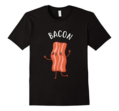 Bacon And Egg Halloween Costume Make (Mens Couples Eggs And Bacon Funny Halloween Cute Costume T Shirt Medium Black)