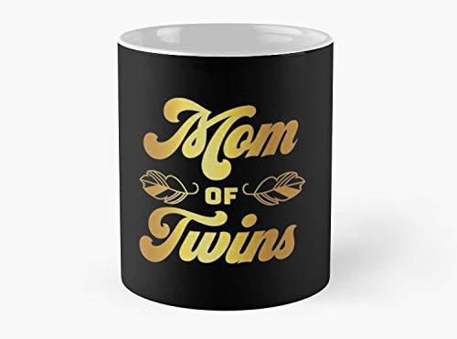 - Mom of Twins Mothers Day Apparel Mugs Gift, Standard Coffee Mug - 11 oz Premium Quality printed coffee mug - Unique Gifting ideas for loved ones