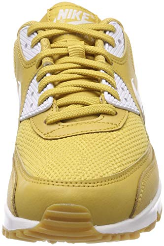 Max White Brown Scarpe 90 Gold Light Gum Multicolore Donna Nike Ginnastica Air Wheat da 701 White A6xg5g