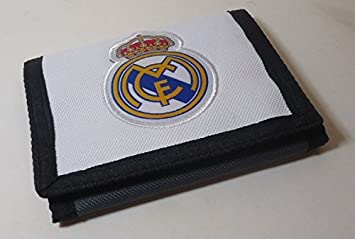 403| Cartera Real Madrid. Billetera Oficial del Real Madrid: Amazon.es: Electrónica