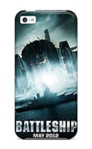 New Premium AnnaSanders Battleship 2012 Skin Case Cover Excellent Fitted For Iphone 5c