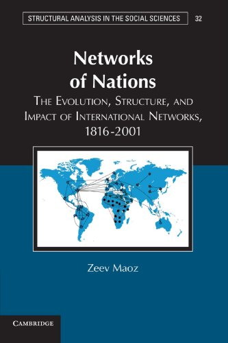Networks of Nations: The Evolution, Structure, and Impact of International Networks, 1816-2001 (Structural Analysis in the Social Sciences)