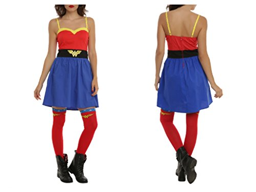 DC Comics Wonder Woman Cosplay Costume Dress (Small) (Hot Cosplay Women)