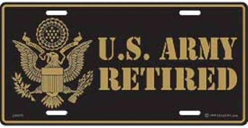 US-Army-Retired-License-Plate