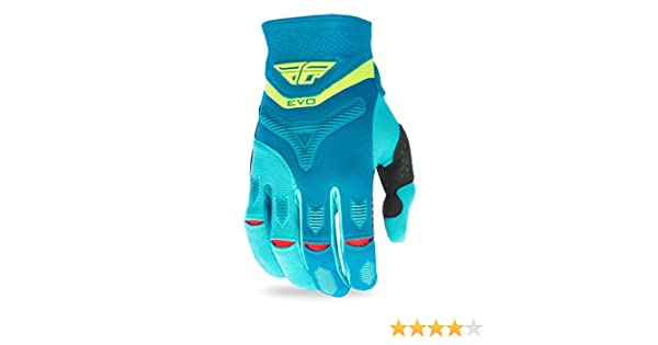 Fly Racing Unisex-Adult Eva Gloves Blue//Yellow//White Large 370-11110