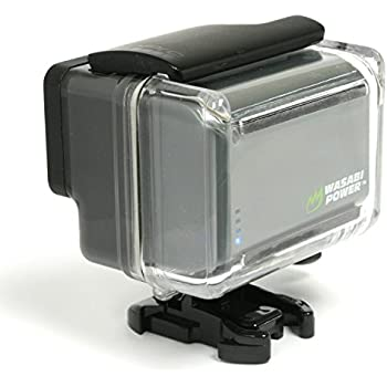 Amazon.com : Wasabi Power Extended Battery for GoPro HERO4 ...