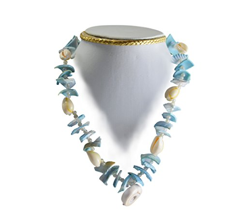 Handmade Beautiful Sea Shell Necklace For Girls / Ladies / Women (Sea Shell Clasp)