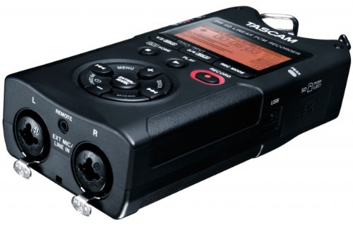Tascam DR-40 Handheld 4-Track Recorder with a Free Patriot 32GB SD Card and 1 Year Free Extended Warranty