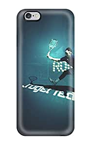Jonathan Litt's Shop Hot New Tpu Hard Case Premium Iphone 6 Plus Skin Case Cover(roger Federer)