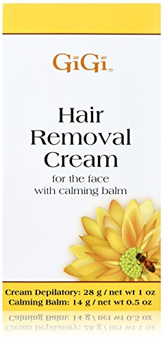 GiGi Hair Removal Cream for Face with Calming Balm