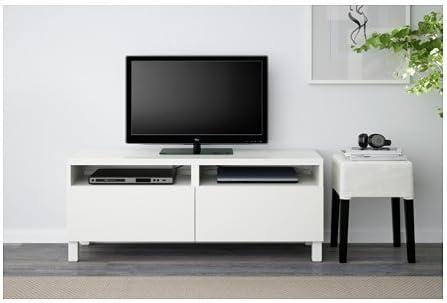 Ikea - Mueble de TV con cajones abatibles, Color Blanco: Amazon.es: Juguetes y juegos