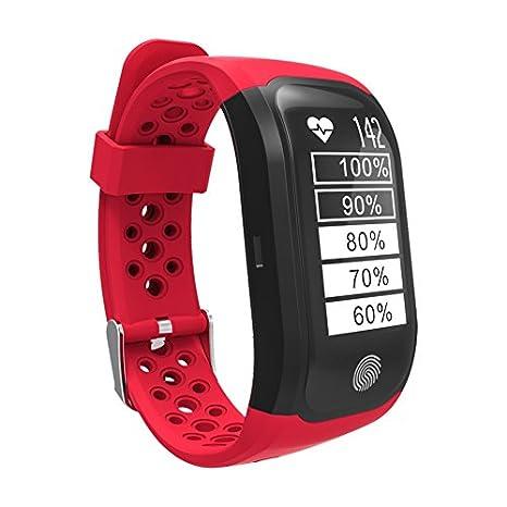 Leotec LEPFIT12R Smart Watch Armbanduhr: Amazon.es: Coche y moto