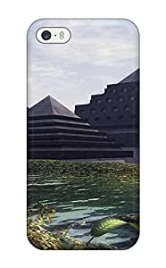 AmandaMichaelFazio IQYCFjE16397NUGUA Case For Iphone 5/5s With Nice The Swamp Pyramids Appearance