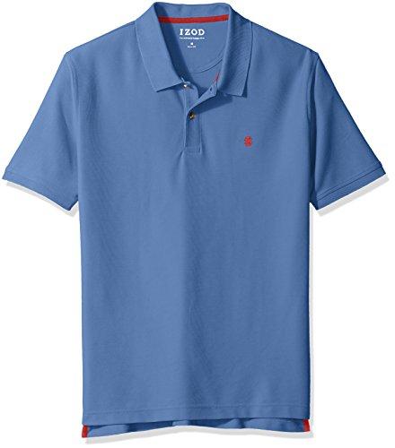 IZOD Men's Advantage Performance Solid Polo, Federal Blue, Small