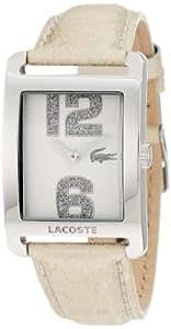 Lacoste 2000674 - Reloj para mujeres, correa de cuero
