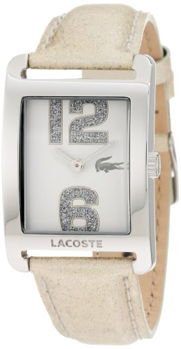 Lacoste Club Collection White Dial Women's Watch #2000674 (White Polished Dial)