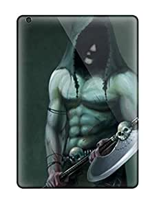 Hot Warrior First Grade Tpu Phone Case For Ipad Air Case Cover