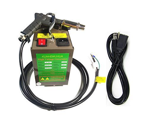 KUNHEWUHUA Antistatic Air Gun Ionizing Air Gun Electrostatic Guns with 4.6KV High Voltage Generator 110v