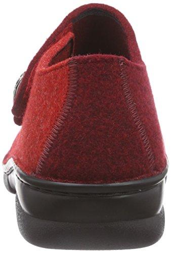 top Rosso 242 242 patch Marciume Pistoni Berkemann 03558 Hi Donne qwg4RUtR