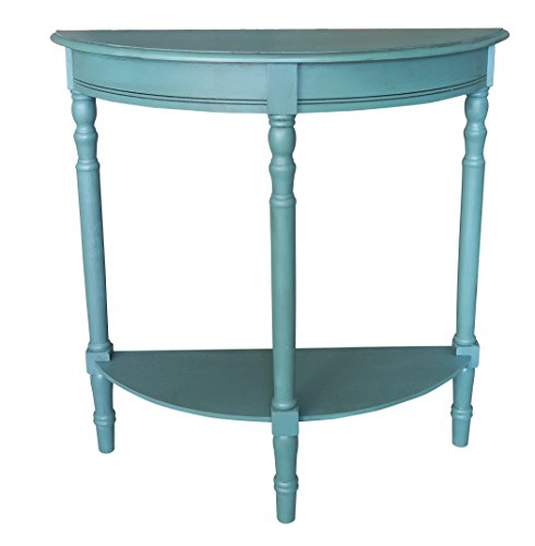 Urbanest Salem Accent Half Table, Teal