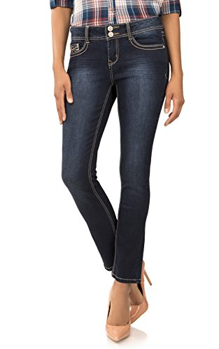 4e4a1e94275 Angels Jeans Women s Plus Size Curvy Convertible