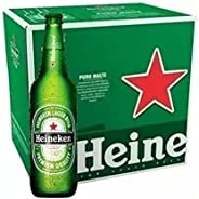 Cerveja Heineken Garrafa 600ml - 12 unid.