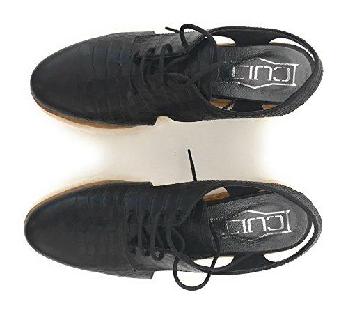 38 Nero Sandalo Pelle In Cult w8O6qBxAw