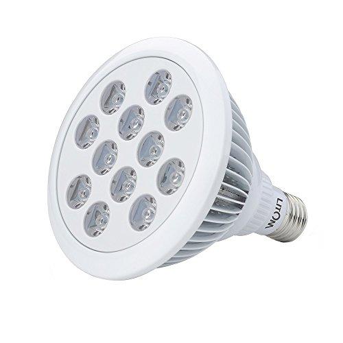 Litom LED Pflanzenlichter E27 36W neueste Gewächshaus Hydroponiklampen