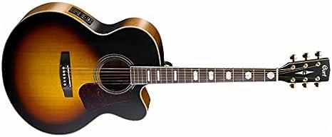 Cort cocj3 V de Tab Super Jumbo Cutaway – Guitarra ...