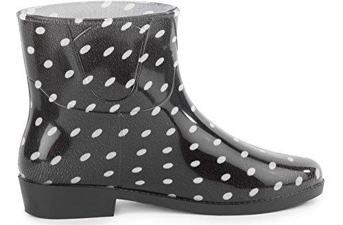 Ladeheid Femme Chaussure Bottes Bottines 4 Pluie Motif Lazt201801 De rnOSrxqX4w