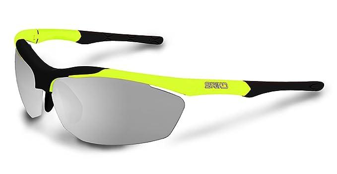 310ce772227 Briko Trident Sunglasses - Photochromic Fluo Yellow Black Photo Clear Cat  0-2