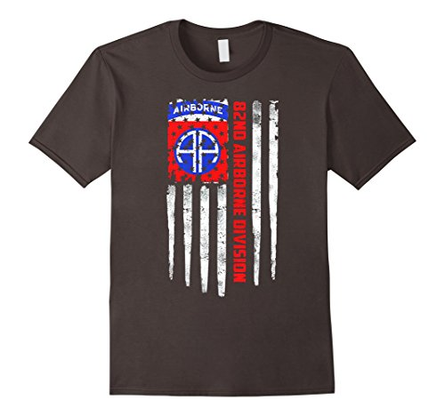 82nd-Airborne-Division-American-Flag-Tshirt