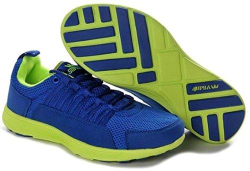 Supra Skate Shoes Owen Fast Royal Blue / Yellow, shoe size:42.5
