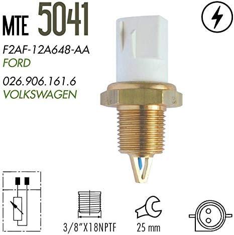 Mercury 1981-1995 Merkur 1988-1989 MTE-THOMSON 5041 Intake Air Charge Temperature Sensor IAT Sensor fits for Ford 1981-2003 Mazda 1991-1995 Lincoln 1980-1995