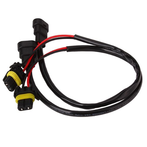 - BQLZR 9005/9006 HID Ballast Extension Cable Cord Connector 50cm X 4 Wires Pack of 2