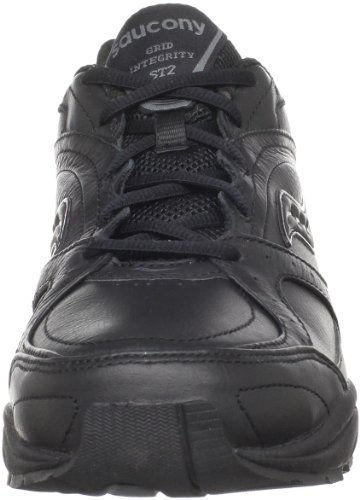 Saucony Zapato para caminar ProGrid Integrity ST2 para mujer, negro / gris, 5 D US