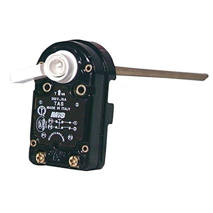 Ariston - Termostato con caña RESTER - TAS 450 MONOFASICO - : 696009