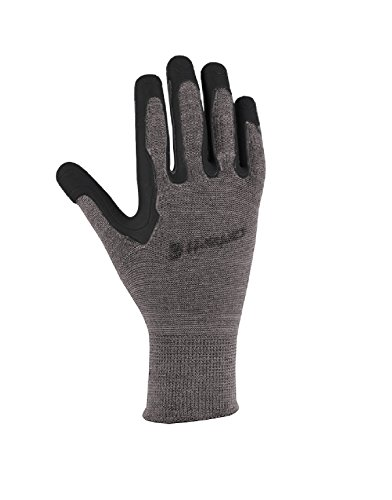 Carhartt Men's Ergo Pro Palm Glove, Grey, Small/Medium