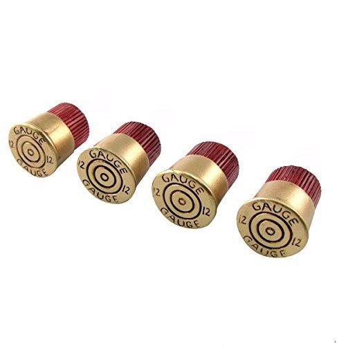 12 Gauge Shotgun Shell Cabinet Handle Drawer Pull 4 Pc Set