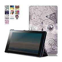 Lenovo Tab 3 7.0 Case, Lenovo Tab 3 Essential Case, Pasonomi® Ultra Slim Lightweight PU Leather Folio Case Stand Cover for Lenovo Tab 3 Essential 7.0 710F 7-Inch Tablet 2016 Release, Tower