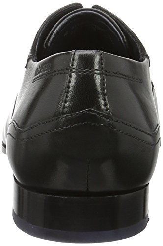 Daniel Hechter 811243031000, Zapatos de Cordones Derby para Hombre Schwarz (Schwarz)
