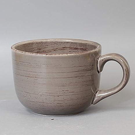 WJIANLL Taza mug cerámica creativa taza de leche y avena a granel taza 12 * 9cm: Amazon.es: Hogar