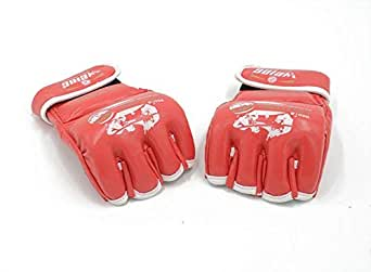 WEING WS-015 Boxing Gloves Half Mitts Kickboxing Sparring Sanda Fighting MMa Red