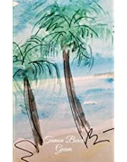Tumon Beach, Guam: 100 Lightly lined pages to write your memories and notes