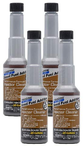 Stanadyne Performance Diesel Injector Cleaner QTY of 4