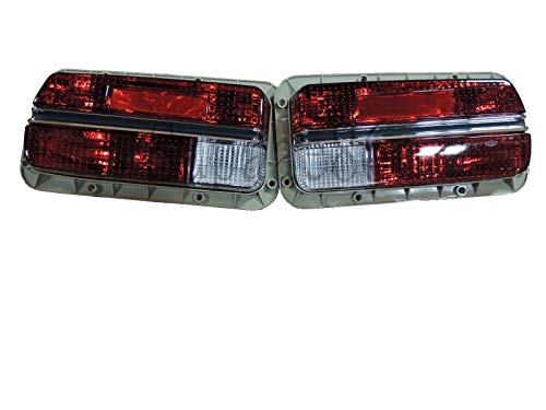 Set of JDM Tail lamp Assembly w/Red Signal Light For 1970-1973 70-73 Datsun 240z 220-24152R