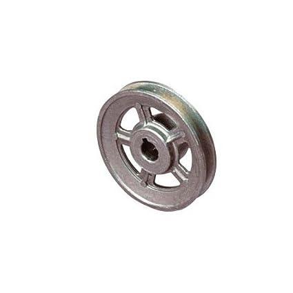 La rueda motriz para compresor polea 120 x 38 mm eje