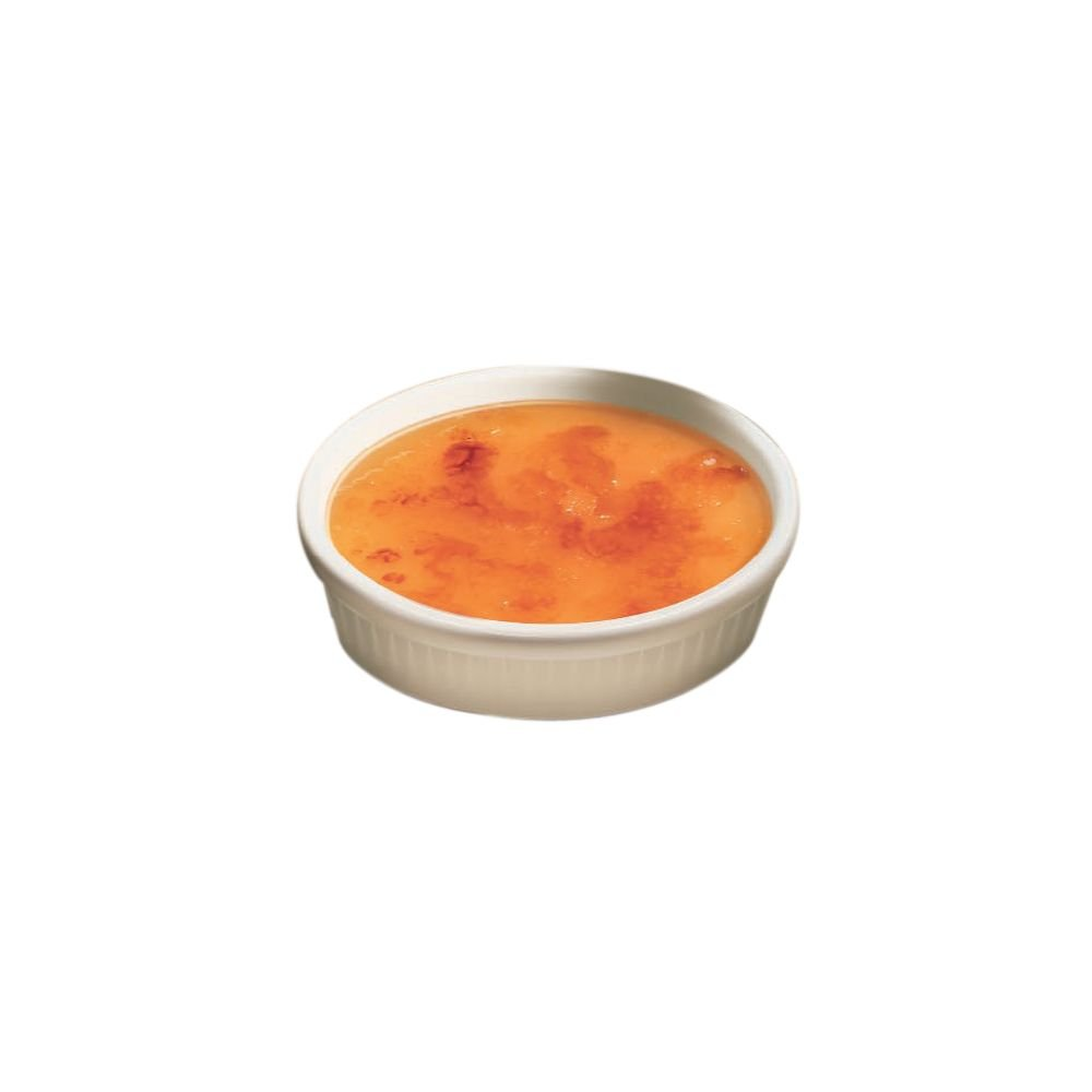 Hall China 4552-WH White 8 Oz. Creme Brulee - 24 / CS