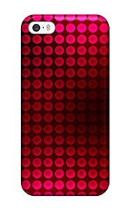 Case Cover Abstract Red / Fashionable Case For Iphone 5/5s